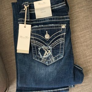 NEW Miss Me bootcut jeans 28